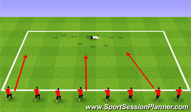 Football/Soccer Session Plan Drill (Colour): Cookie Monster's Cookies