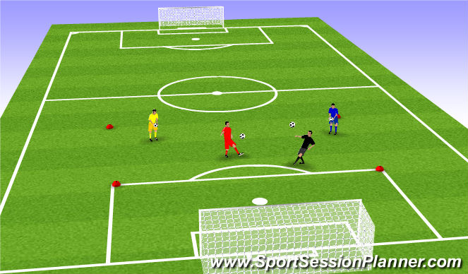 Football/Soccer Session Plan Drill (Colour): Juggling Test