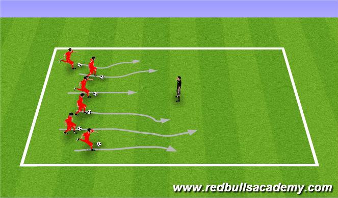 Football/Soccer Session Plan Drill (Colour): Spongebob Squarepants