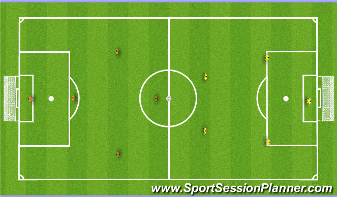Football/Soccer Session Plan Drill (Colour): Inhouse Futsal Tournament - 1.05.14
