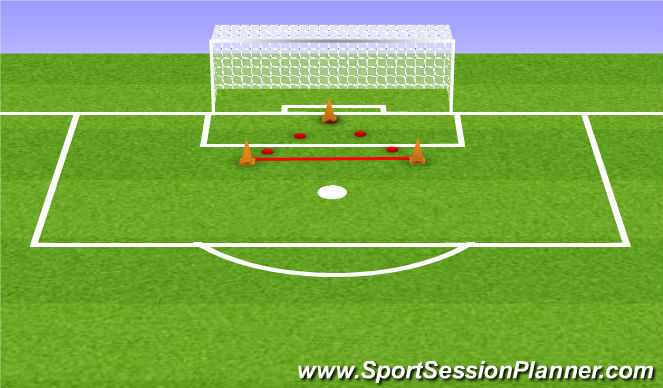 Football/Soccer Session Plan Drill (Colour): Layout