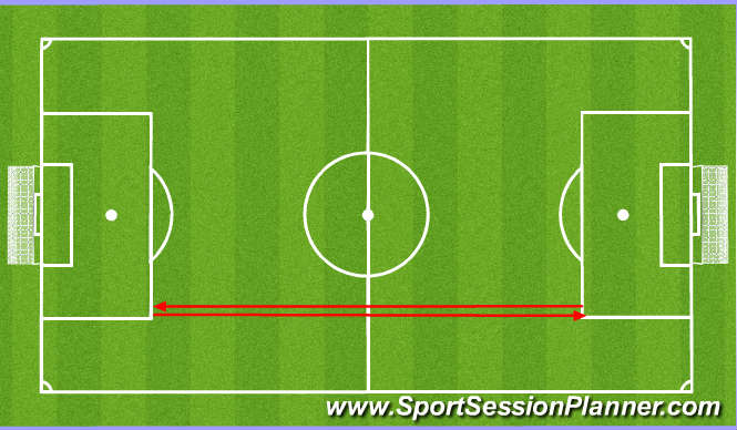 Football/Soccer Session Plan Drill (Colour): Pyramid High Intensity runs - Speed Endurance
