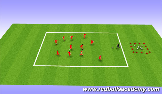 Football/Soccer Session Plan Drill (Colour): Mian theme- Transformers