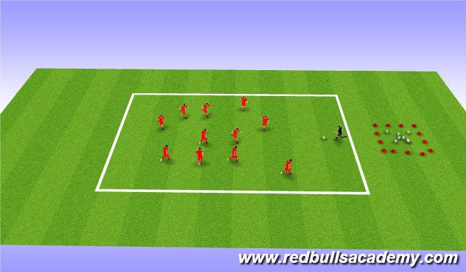 Football/Soccer Session Plan Drill (Colour): Mian theme- Transformers