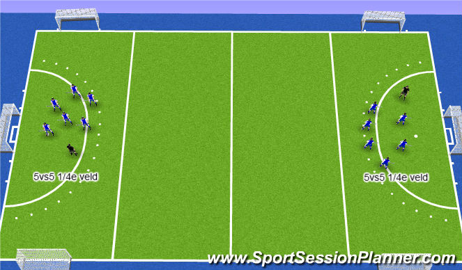 Hockey Session Plan Drill (Colour): wedstrijd