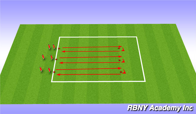 Football/Soccer Session Plan Drill (Colour): Athletic Development