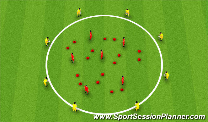 Football/Soccer Session Plan Drill (Colour): Nuno_Rosa_Space recognition