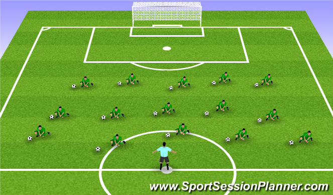 Football/Soccer Session Plan Drill (Colour): Collapse Save