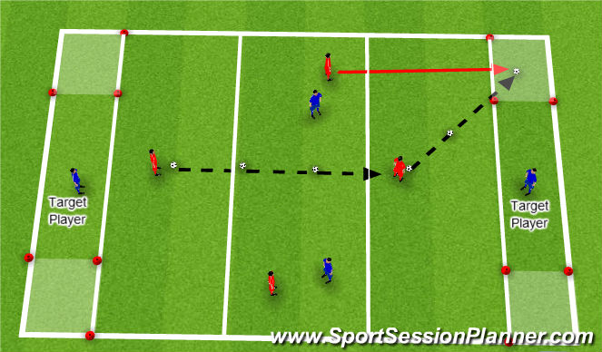 Football/Soccer Session Plan Drill (Colour): Nuno_Rosa_Ball_Control_Skill_Practice