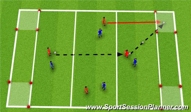 Football/Soccer Session Plan Drill (Colour): Nuno_Rosa_Ball_Control_Small_Sided_Game
