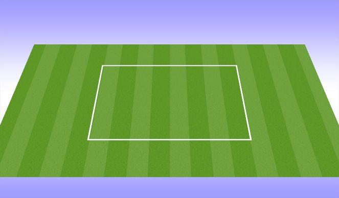 Football/Soccer Session Plan Drill (Colour): Team Talk & Warmup