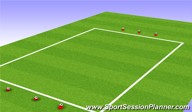 Football/Soccer Session Plan Drill (Colour): Match Play - Variation
