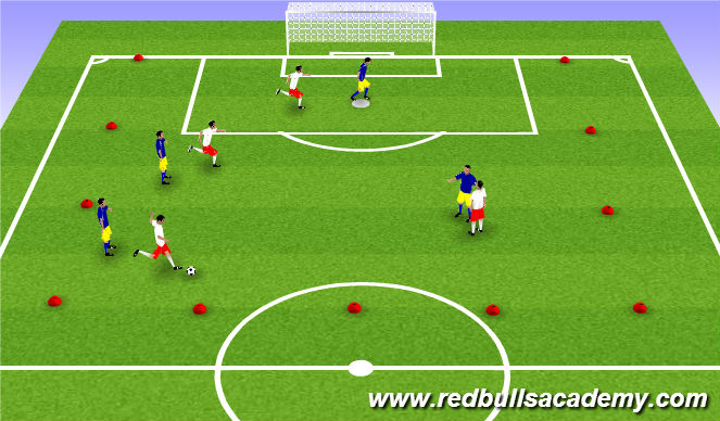 Football/Soccer Session Plan Drill (Colour): Main Theme-Possession Game
