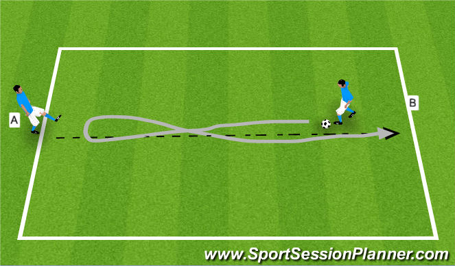Football/Soccer Session Plan Drill (Colour): BALL BASTERY