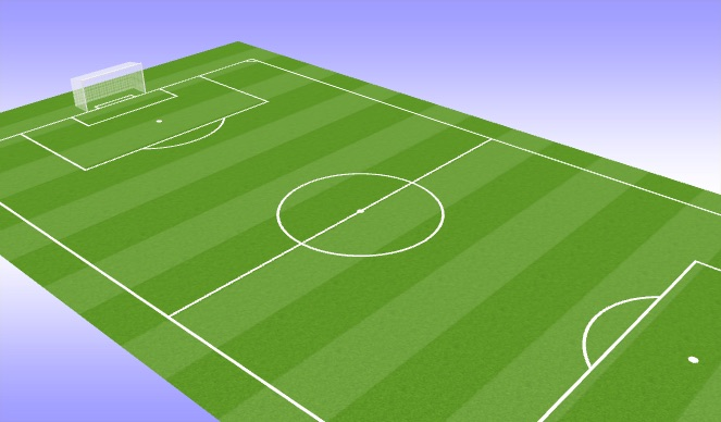 Football/Soccer Session Plan Drill (Colour): Sprintkracht 1