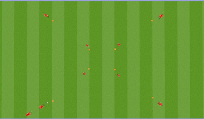 Football/Soccer Session Plan Drill (Colour): CHECK OFF