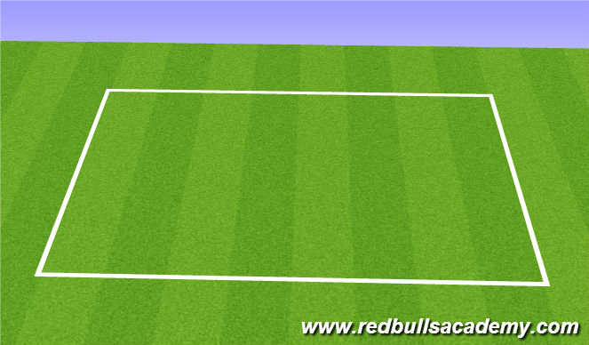 Football/Soccer Session Plan Drill (Colour): 4v4 Match