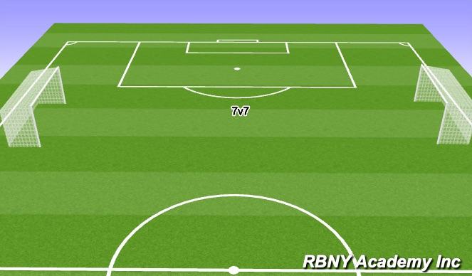 Football/Soccer Session Plan Drill (Colour): IV. Match