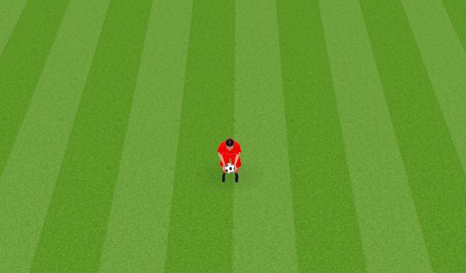 Football/Soccer Session Plan Drill (Colour): Juggling Variation