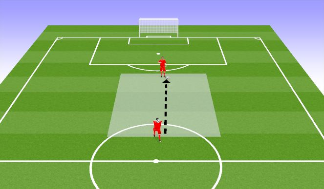 Football/Soccer Session Plan Drill (Colour): Soojendus