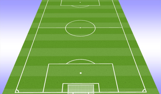 Football/Soccer Session Plan Drill (Colour): Conditioning 15/15