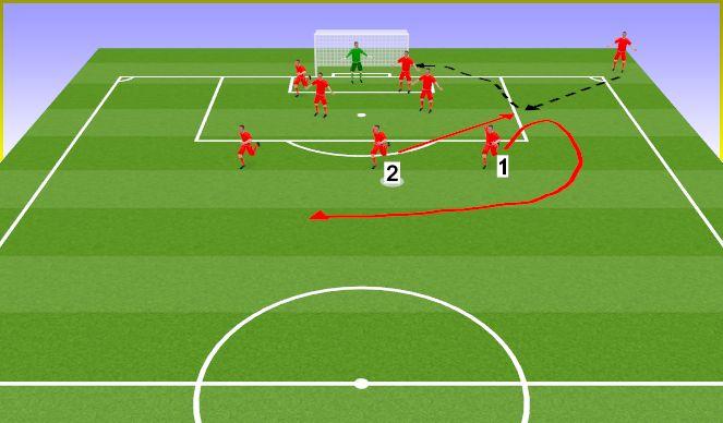 Football/Soccer Session Plan Drill (Colour): BPO