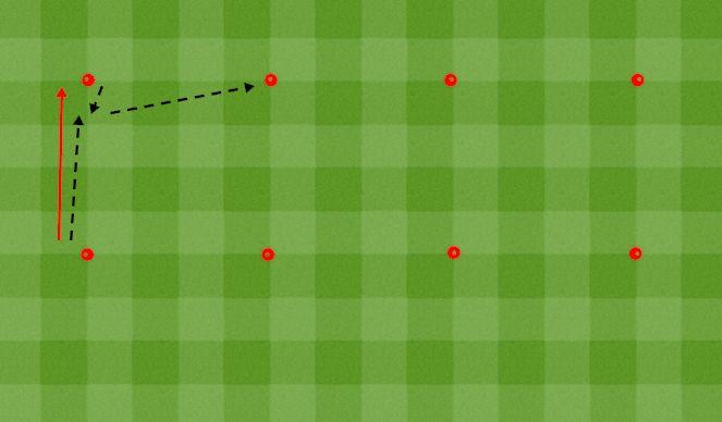 Football/Soccer Session Plan Drill (Colour): Ball Tech 9