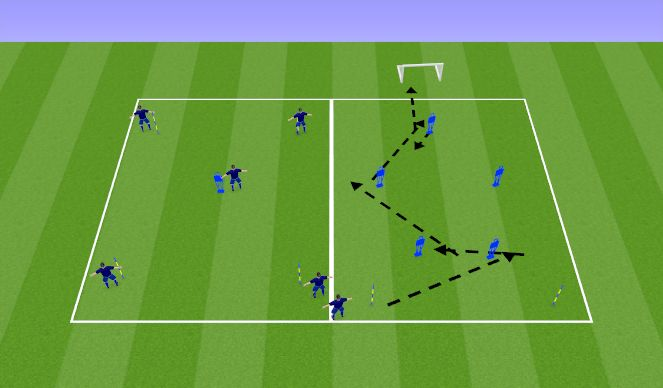 Football/Soccer Session Plan Drill (Colour): Tech Details