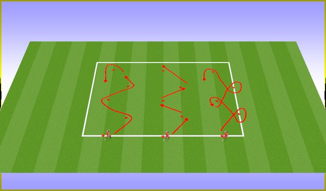 Football/Soccer Session Plan Drill (Colour): SAQ (pre-training if possible)