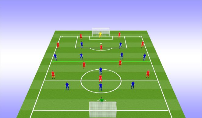 Football/Soccer Session Plan Drill (Colour): LEARNING