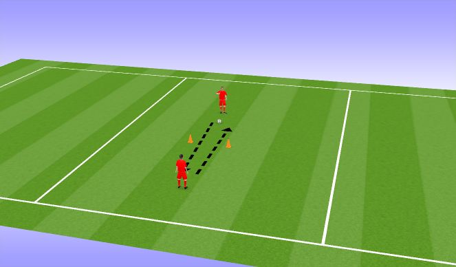 Football/Soccer Session Plan Drill (Colour): Warm UP 5 miinust