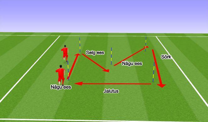 Football/Soccer Session Plan Drill (Colour): Agilty