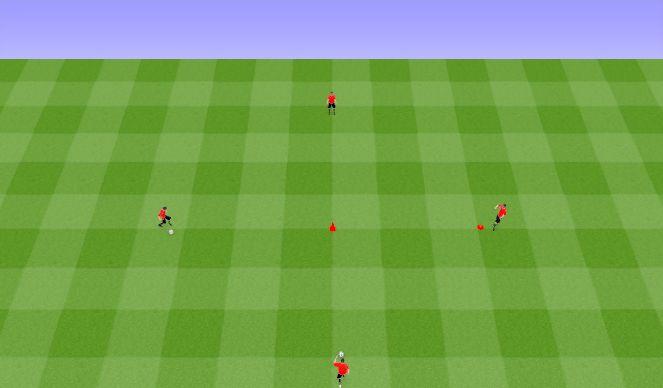 Football/Soccer Session Plan Drill (Colour): RWTB WU