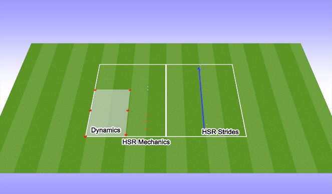 Football/Soccer Session Plan Drill (Colour): Activation and Strides