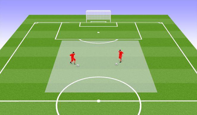 Football/Soccer Session Plan Drill (Colour): Tehnilised elemendid