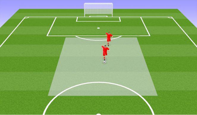 Football/Soccer Session Plan Drill (Colour): Pallikaitsmine
