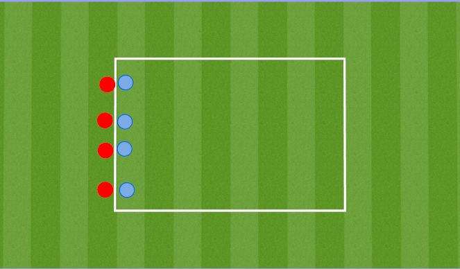 Football/Soccer Session Plan Drill (Colour): Paarilise tõmbamine/lükkamine