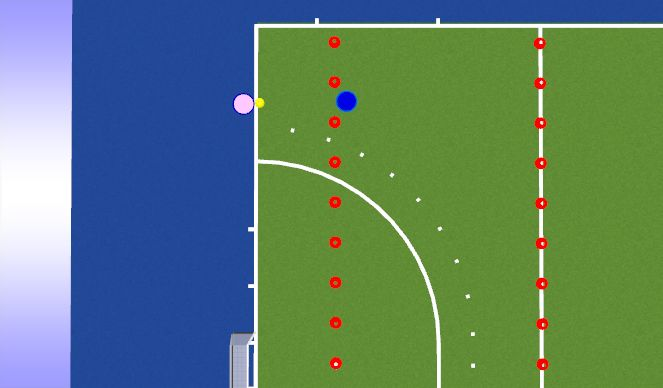 Hockey Session Plan Drill (Colour): Snap Snap