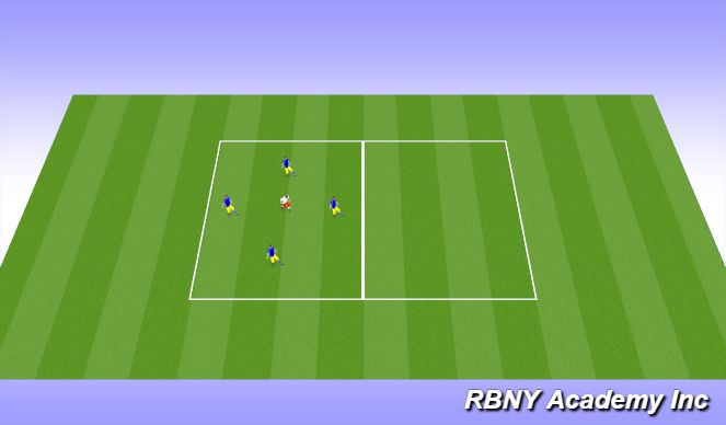Football/Soccer Session Plan Drill (Colour): Tec.