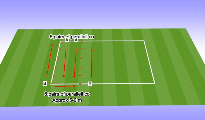 Football/Soccer Session Plan Drill (Colour): Fifa 11 Practice