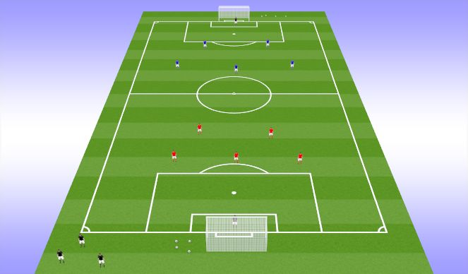 Football/Soccer Session Plan Drill (Colour): SSG - Champion of champions.