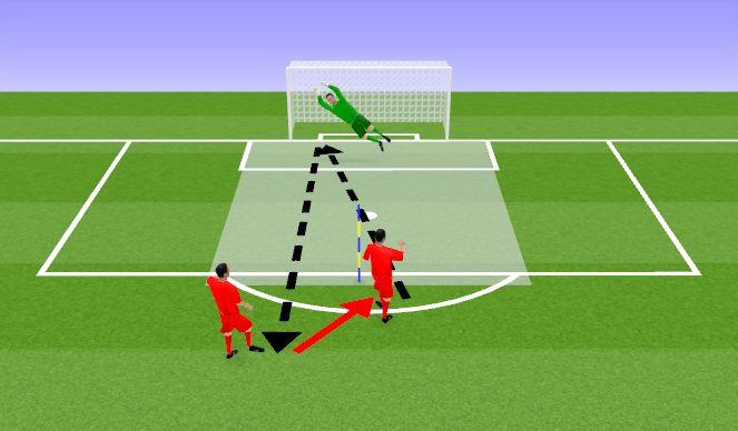 Football/Soccer Session Plan Drill (Colour): Löögid