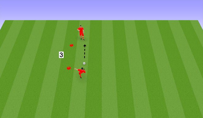 Football/Soccer Session Plan Drill (Colour): iSkills Passing & Receiving