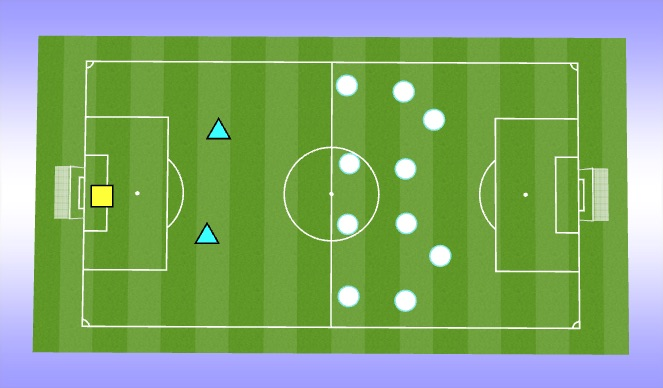 Football/Soccer Session Plan Drill (Colour): Optional