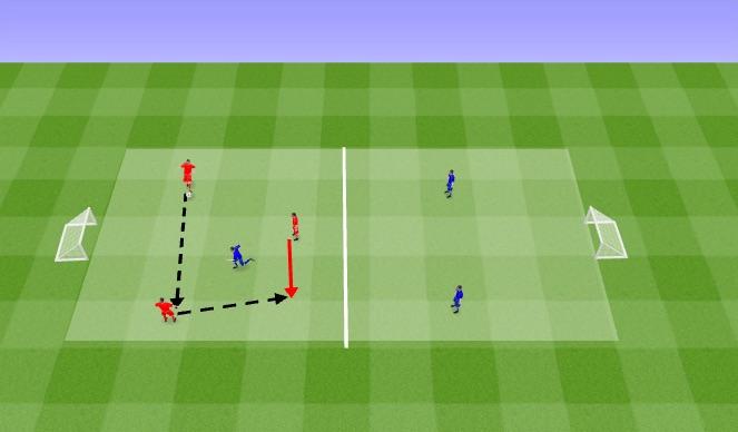Football/Soccer Session Plan Drill (Colour): Rondo Main Activity