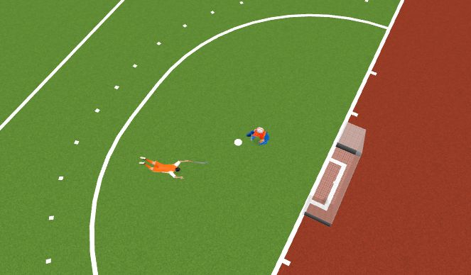 Hockey Session Plan Drill (Colour): Animation test