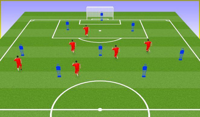 Football/Soccer Session Plan Drill (Colour): Presión salida rival (Analítica + Juego real)