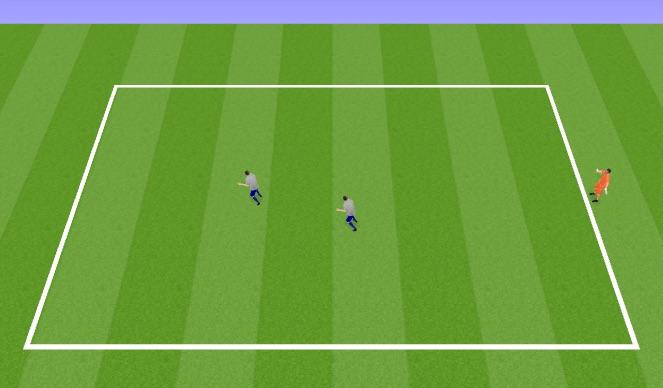 Football/Soccer Session Plan Drill (Colour): Rondo 2+2v2