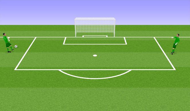 Football/Soccer Session Plan Drill (Colour): VV harjutus III