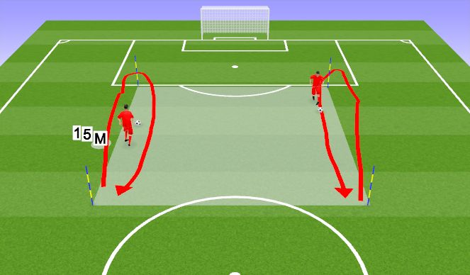 Football/Soccer Session Plan Drill (Colour): Teatevõistlused